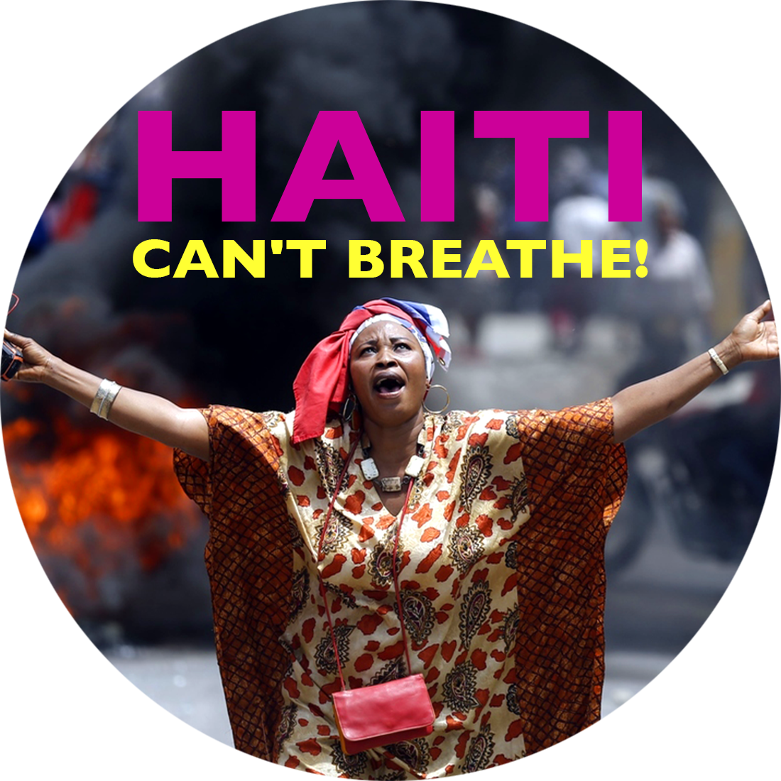 Haiti Can't Breathe!: The U.S. and OAS are backing Jovenel Moise's attempt to grab power in Haiti.  The U.S., OAS, UN and the CORE group need to take their hands off Haiti now!