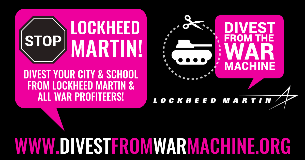 DIVEST FROM THE WAR MACHINE