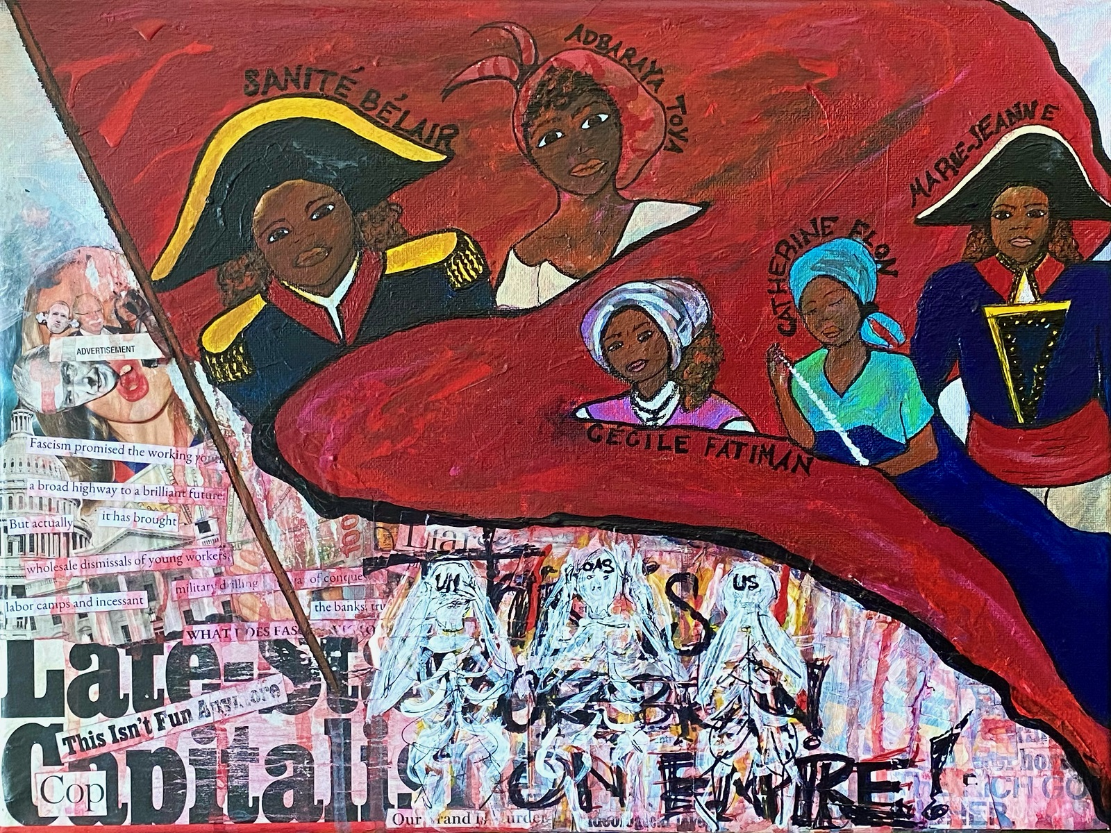  We are honored to present Vive la liberté!, an online exhibition in solidarity with the Haitian people  in the struggle for democracy and self-determination.