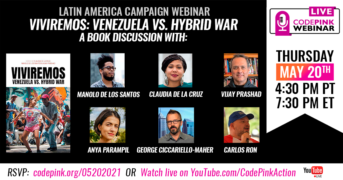Viviremos: Venezuela vs. Hybrid War - Book Tour
