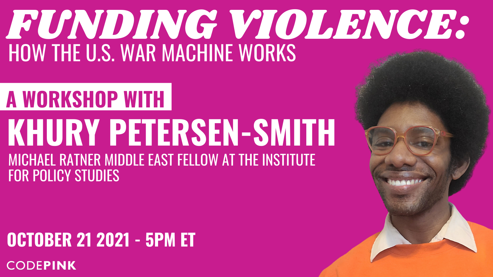 Funding Violence: How the U.S. War Machine Works