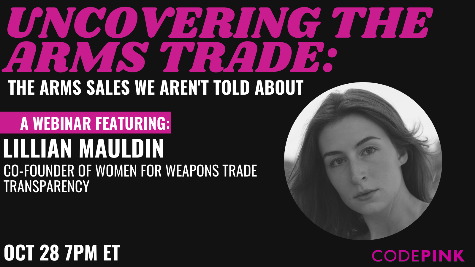 Uncovering the Arms Trade: The Arms Sales We Aren't Told About
