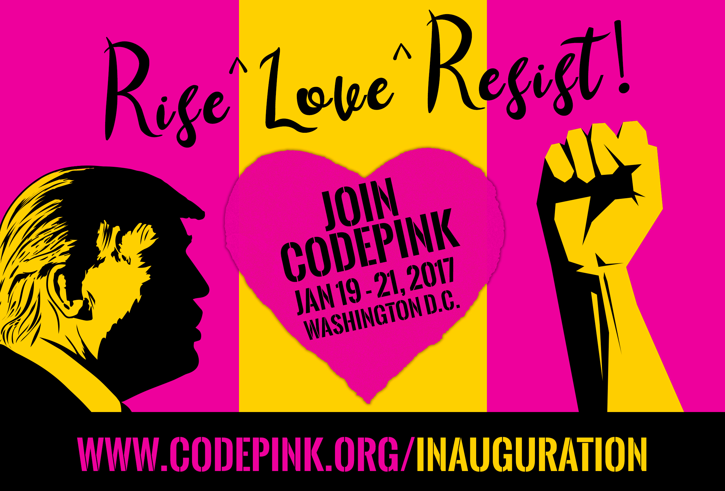 Code Pink Inauguration