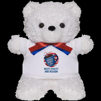 Coffee Party USA Teddy Bear | Coffee with Friends | Merchandise (via Cafe Press)