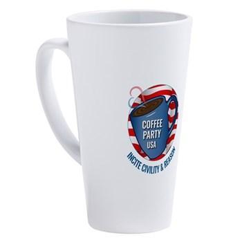 Coffee Party USA Latte Mug | Coffee with Friends | Merchandise (via Cafe Press)