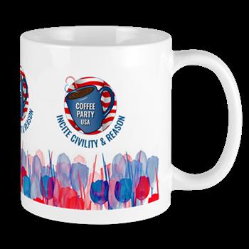 Coffee Party USA Mug | Coffee with Friends | Merchandise (via Cafe Press)
