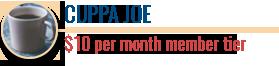 Cuppa Joe | $10 member tier | Coffee with Friends