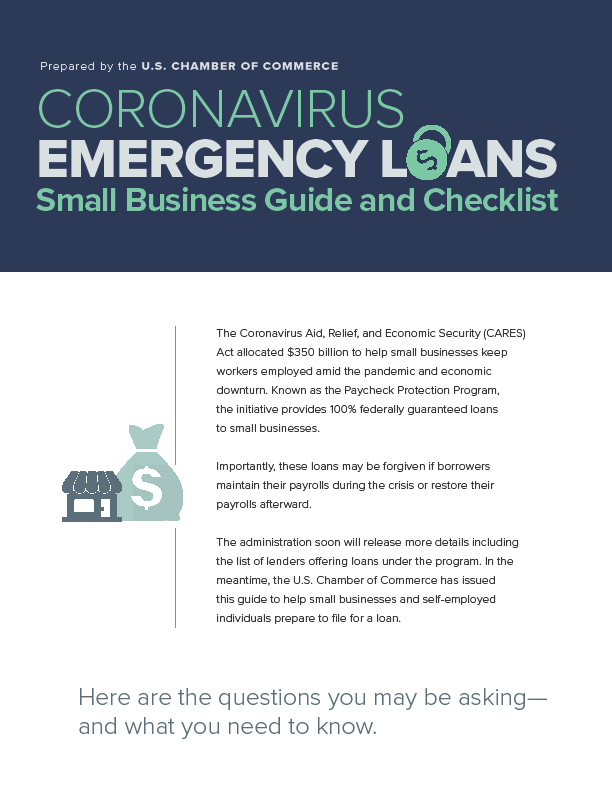 Kevin Cole CoronaVirus Small Business Loan Guide