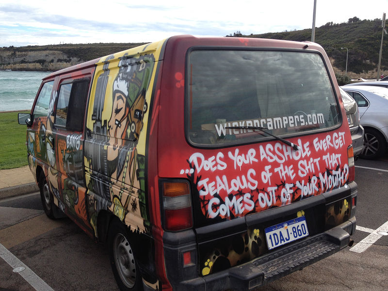 Wicked Campers slogan banned by Ad Standards Board