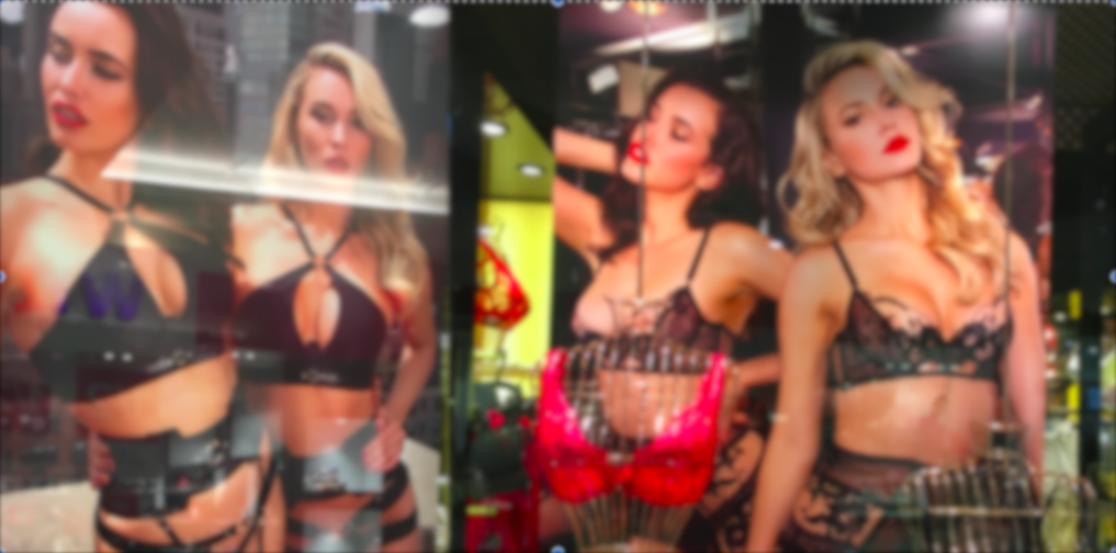 One father's run in with Honey Birdette signage - Part 2
