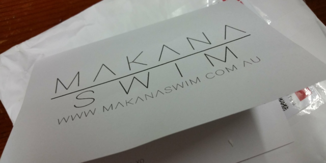 Your prize has arrived- Makana swimwear