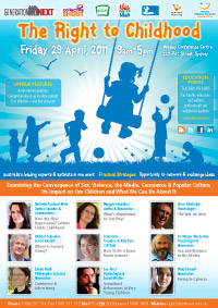 The Right to Childhood, Sydney April 29