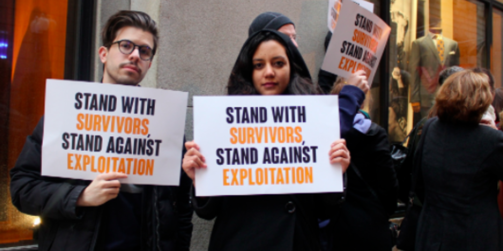 Over 300 human rights groups across 40 nations calling on Associated Press not to use the term 'sex worker'