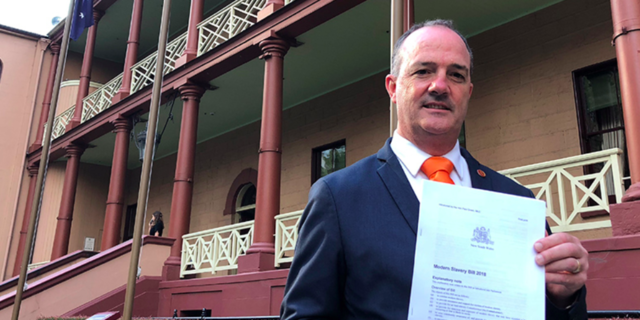 Slavery is real and we will fight it, says NSW parliament