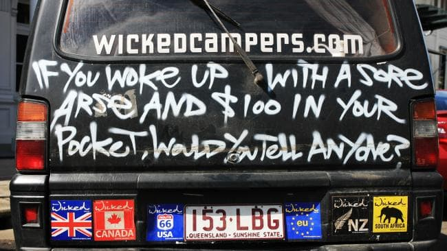 Wicked Campers slogan suggestive of sexual violence given green light by Ad Standards Board
