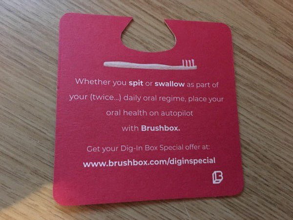Toothbrush company tries to apologise for 'spit or swallow' ad; fails