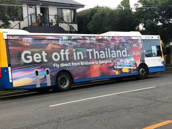 Get off in Thailand