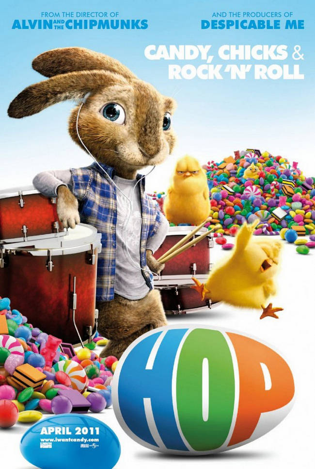 Playboy cameos in g rated kids film 'hop'