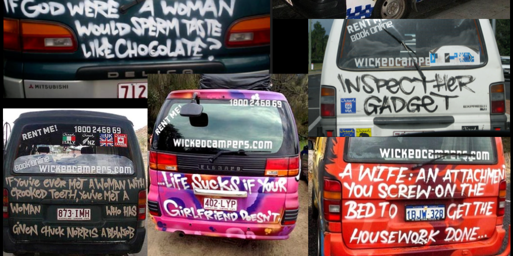 Why we're calling on music festivals to ban all Wicked Campers
