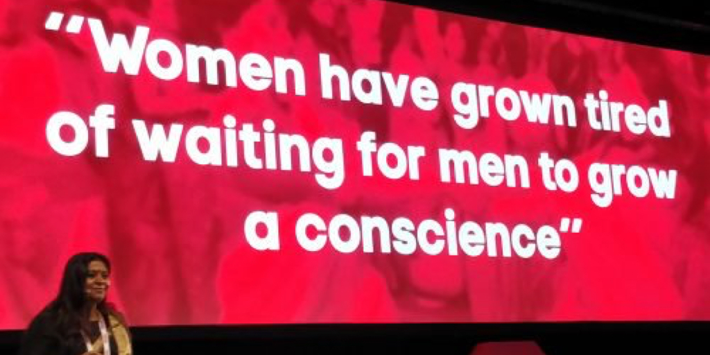 CSR begins with men growing a conscience