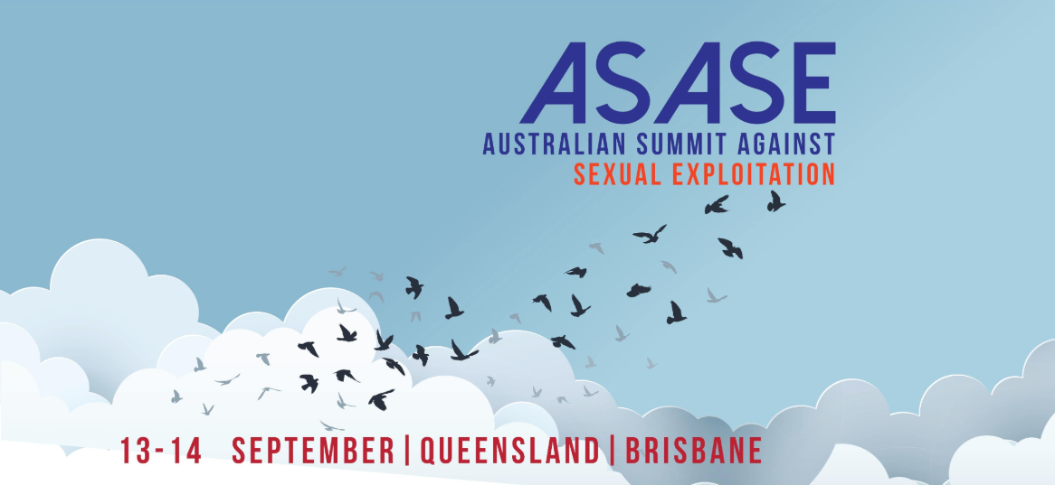 3 weeks to go! Australian Summit Against Sexual Exploitation | Sep 13-14
