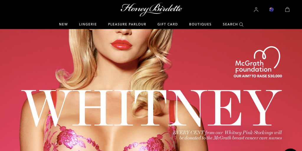 Sexing-up breast cancer: Honey Birdette's pinkwashing