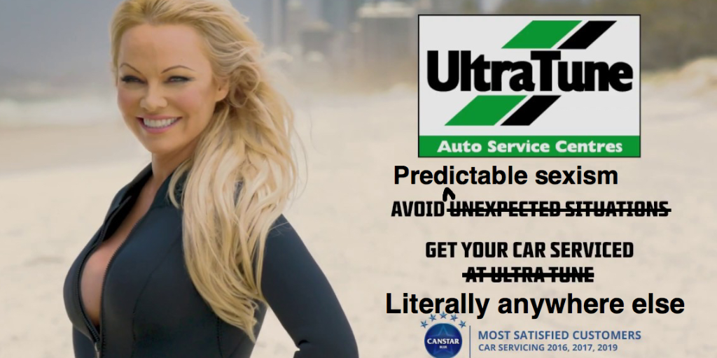 SLAMMED! Sexist Ultra Tune ad broadcast during women's tennis condemned