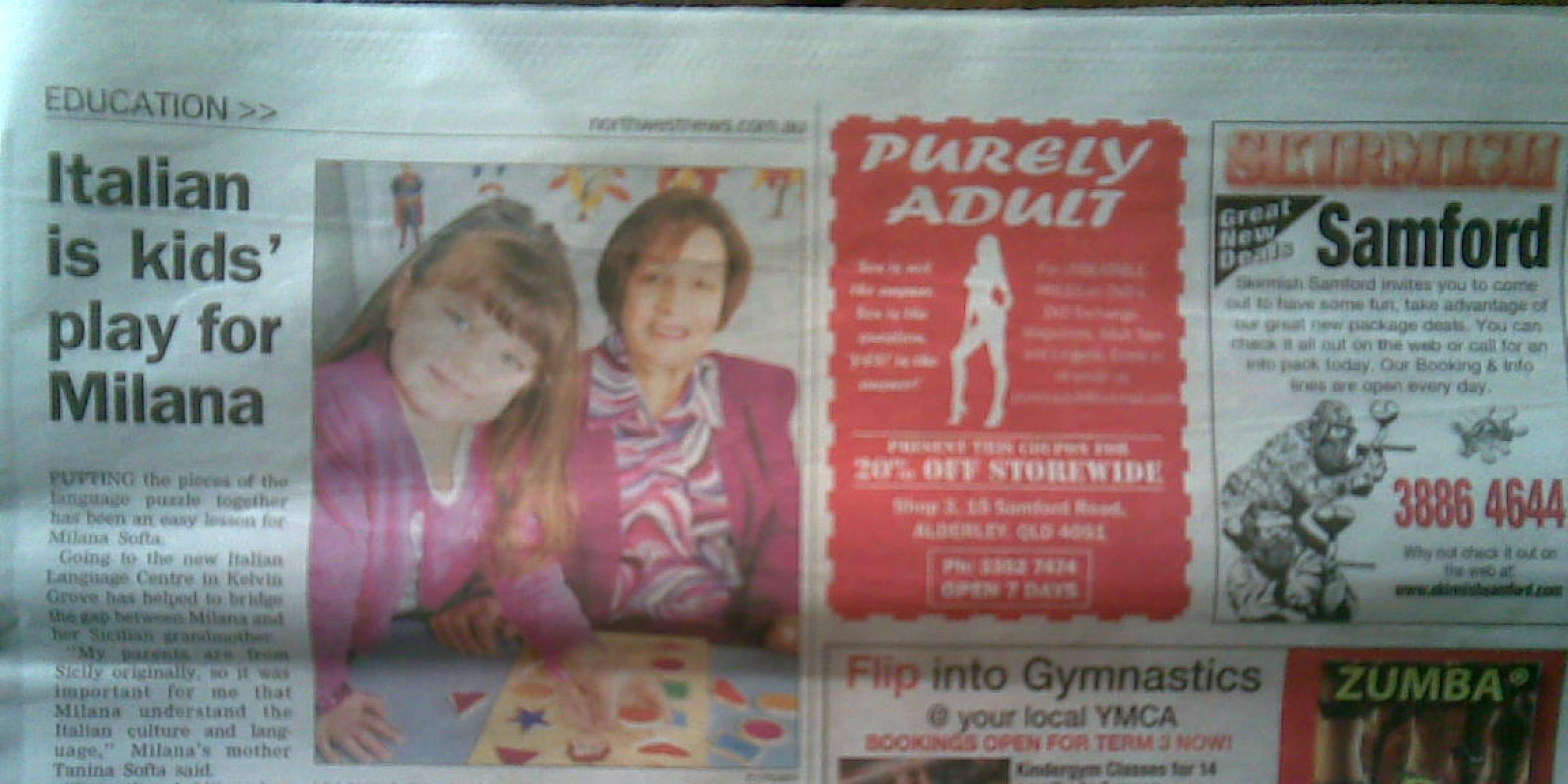 Letter challenges newspaper's porn ad