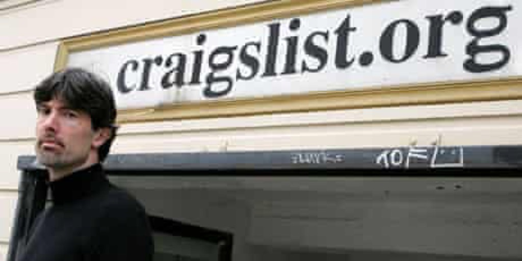 Craiglist classifieds site removes adult services section