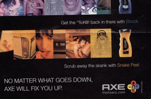 Lynx hits the jackpot: sexist, racist and ageist
