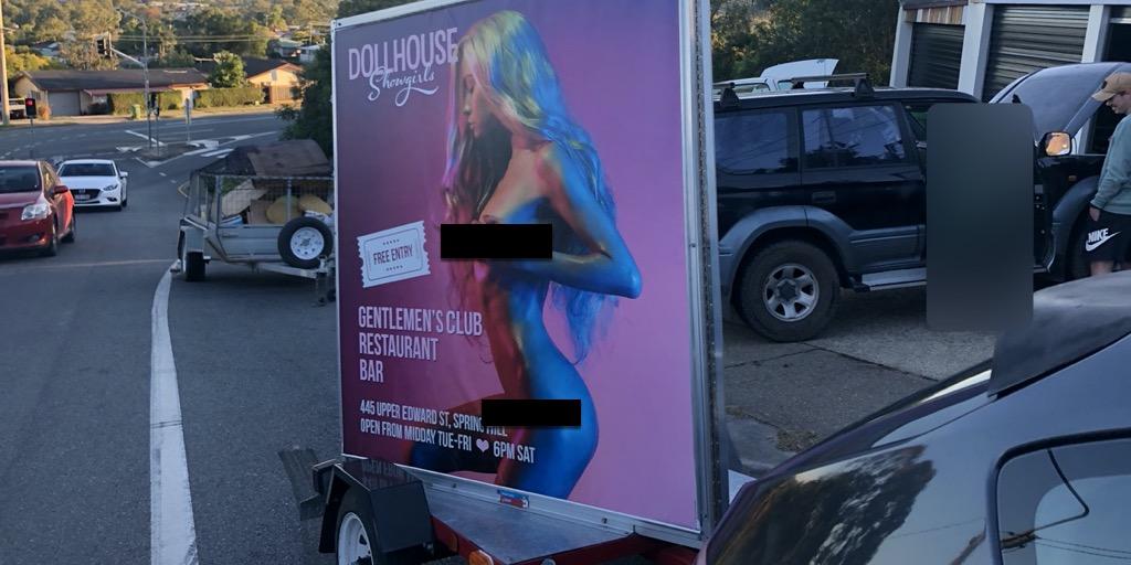 Ad Standards upholds complaints against Brisbane strip club mobile ads