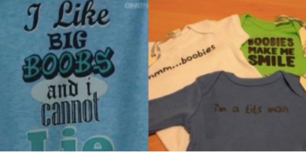 Cotton On still selling sexualised baby clothes