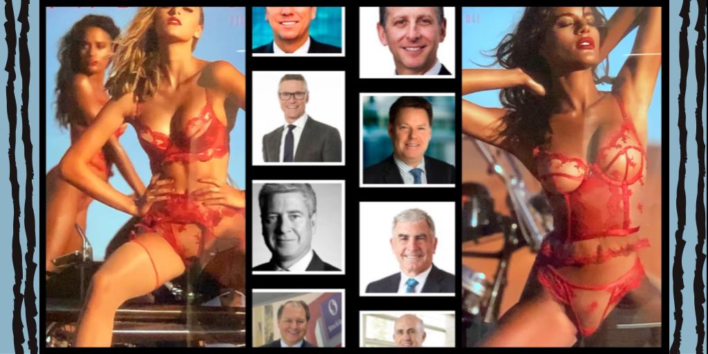 Legs spread, vulvas exposed: Champions of Change aid Brett Blundy brand's faux female empowerment (again)