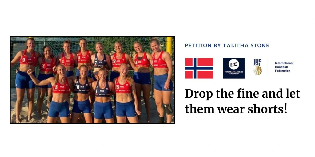 Media Release: Let them wear shorts! Aussie woman's petition to swap bikinis for shorts in women's handball