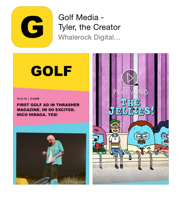 Thumbnail for Tyler the Creator's Golf Media App