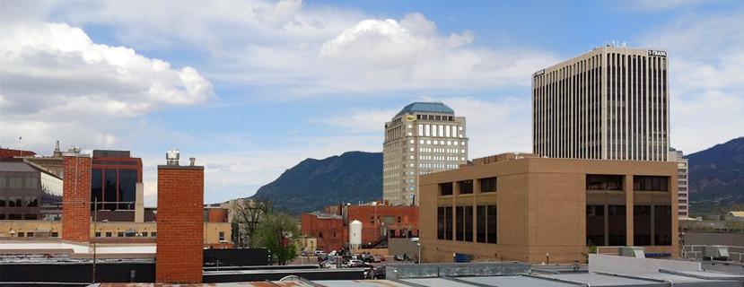 Colorado Springs Cityscape