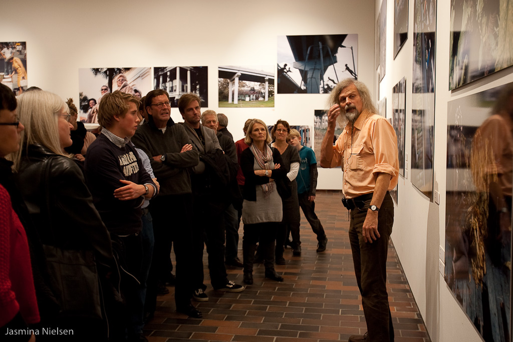 Jacob Holdt talked to Columbia alumni about his American Pictures at Louisiana in 2009