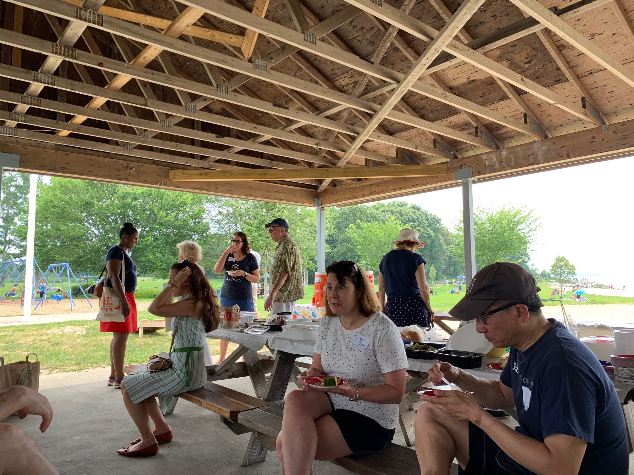 Alumni from Colt state picnic