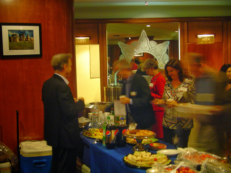 Reception at Miracle Theater Coral Gables, Columbia University Miami Alumni