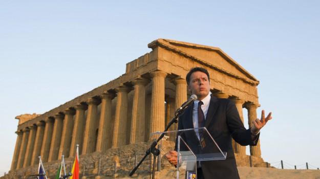 Matteo Renzi: «Prima di chiedere altri soldi, la Sicilia spenda i miliardi del patto. Mai coi 5 Stelle»