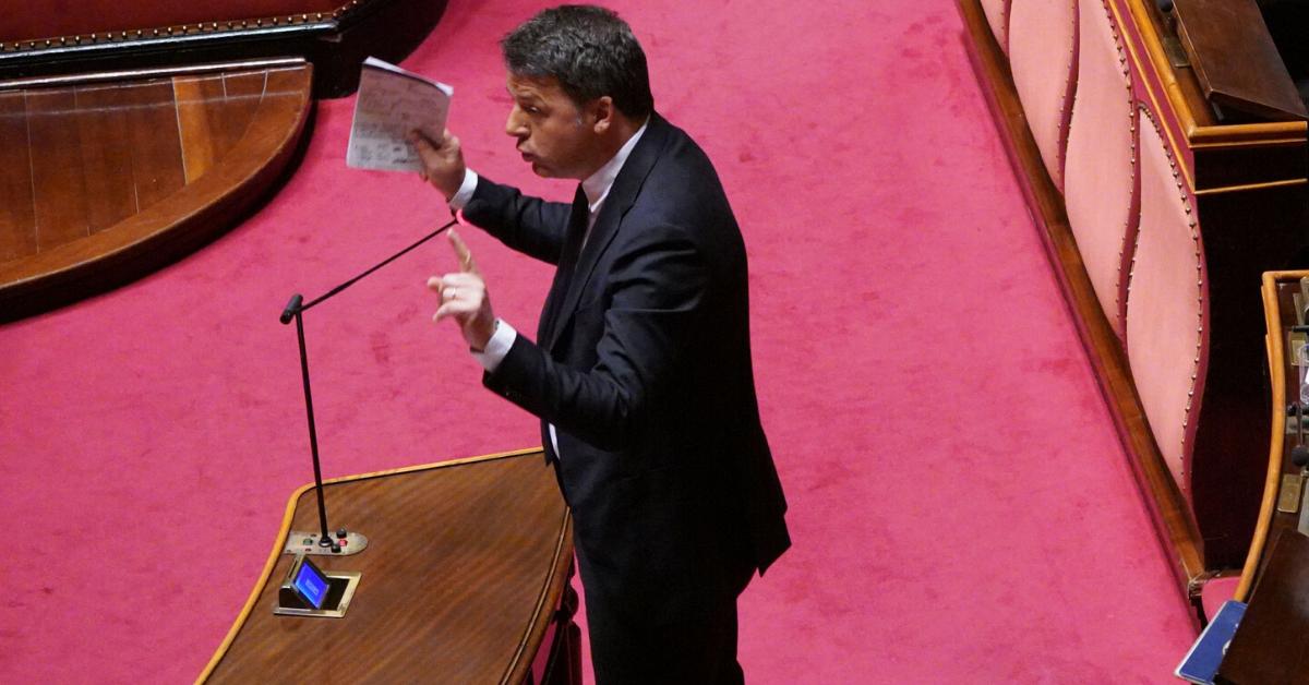 """Renzi: """"Ora liquidità per aziende e famiglie"""""""