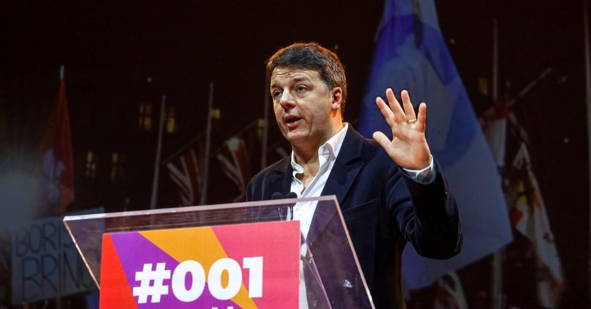 """Renzi: """"Non servono poltrone ma cantieri. Il Governo adesso pensi al lavoro"""""""