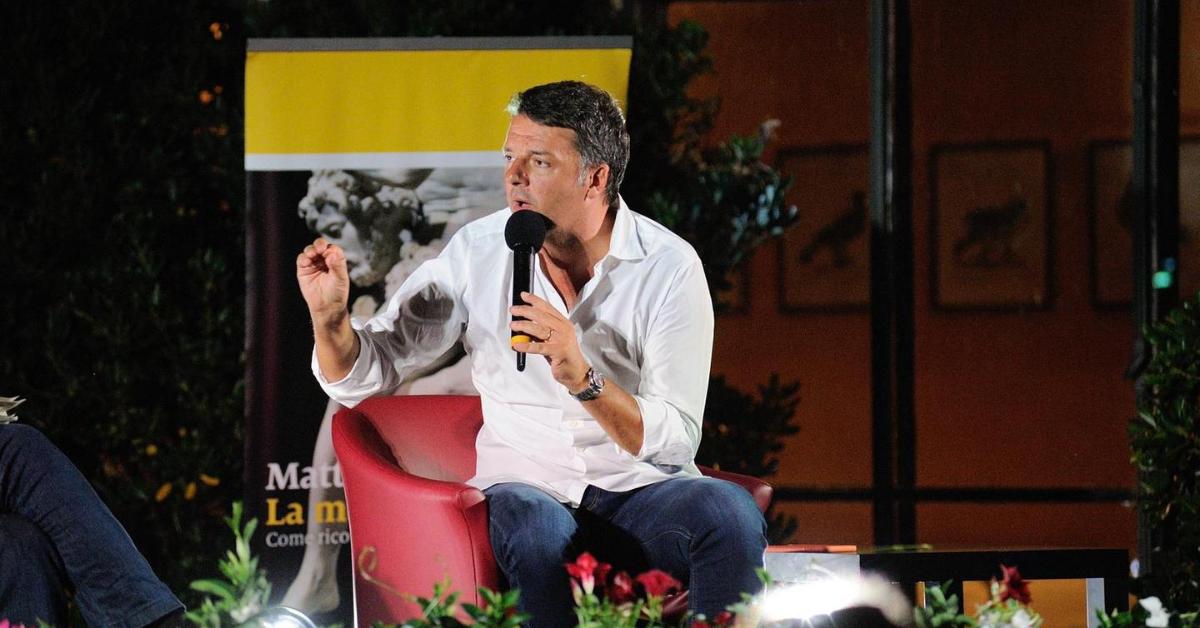 "Renzi: ""Italia Viva sarà decisiva per far vincere De Luca"""
