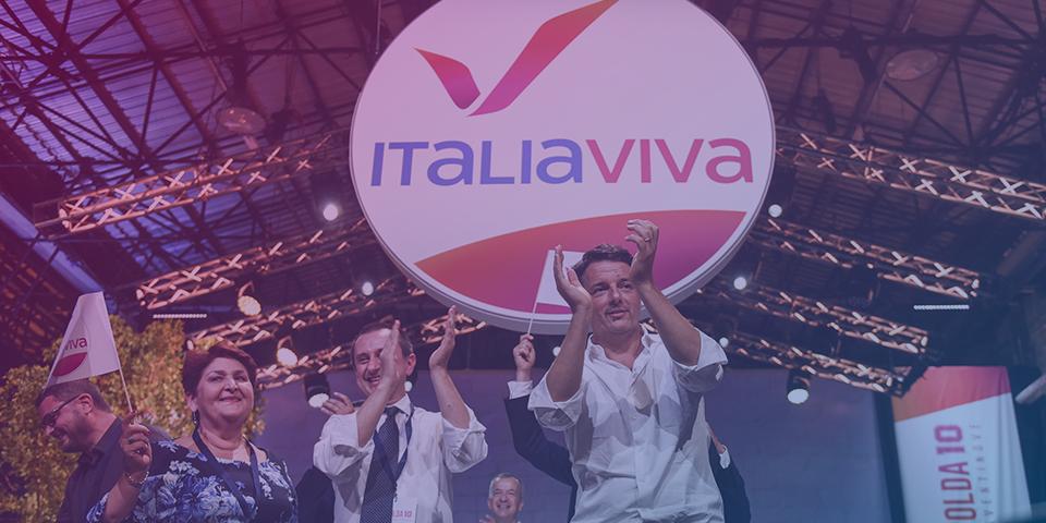 <strong>Nasce Italia Viva </strong><br><p></p><h4>Costruiamo una nuova Casa: giovane, innovativa, femminista, dove si lancino idee per l'Italia e l'Europa. </h4>