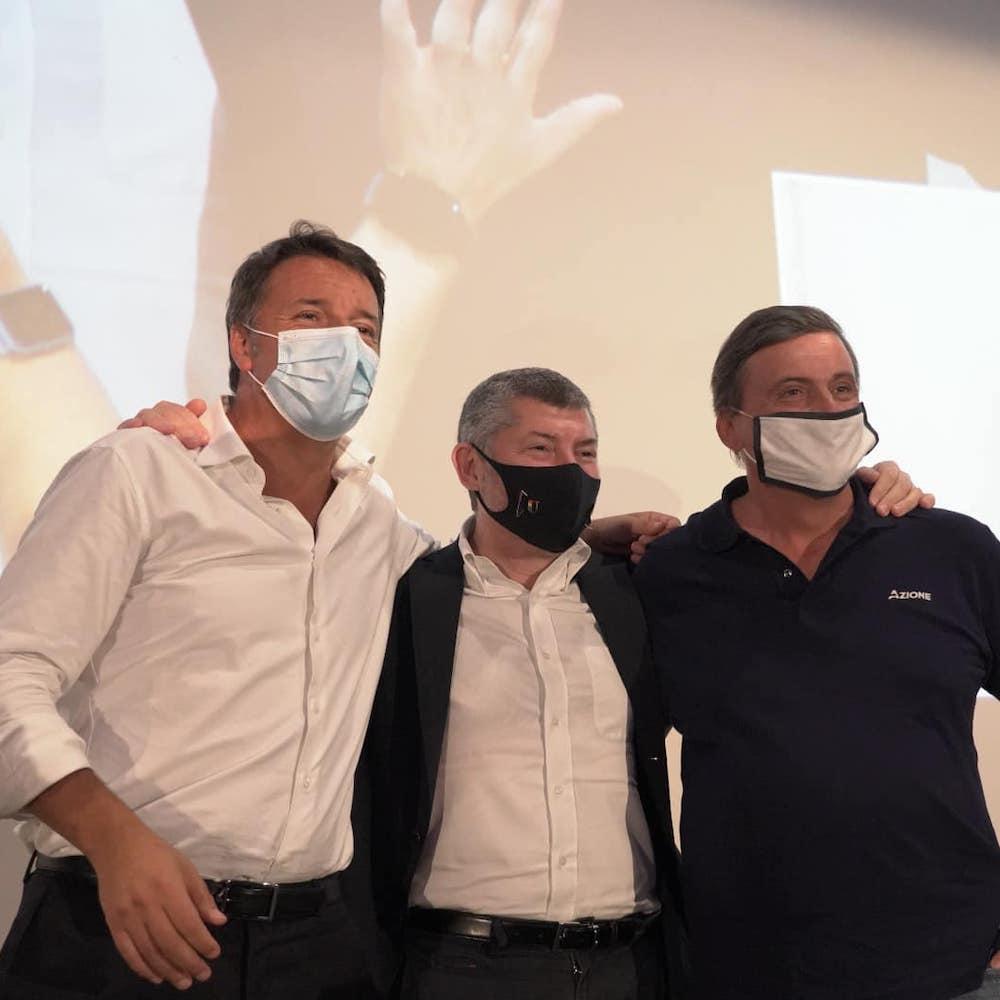 Calenda e Renzi con Ivan il 12 settembre a Bari