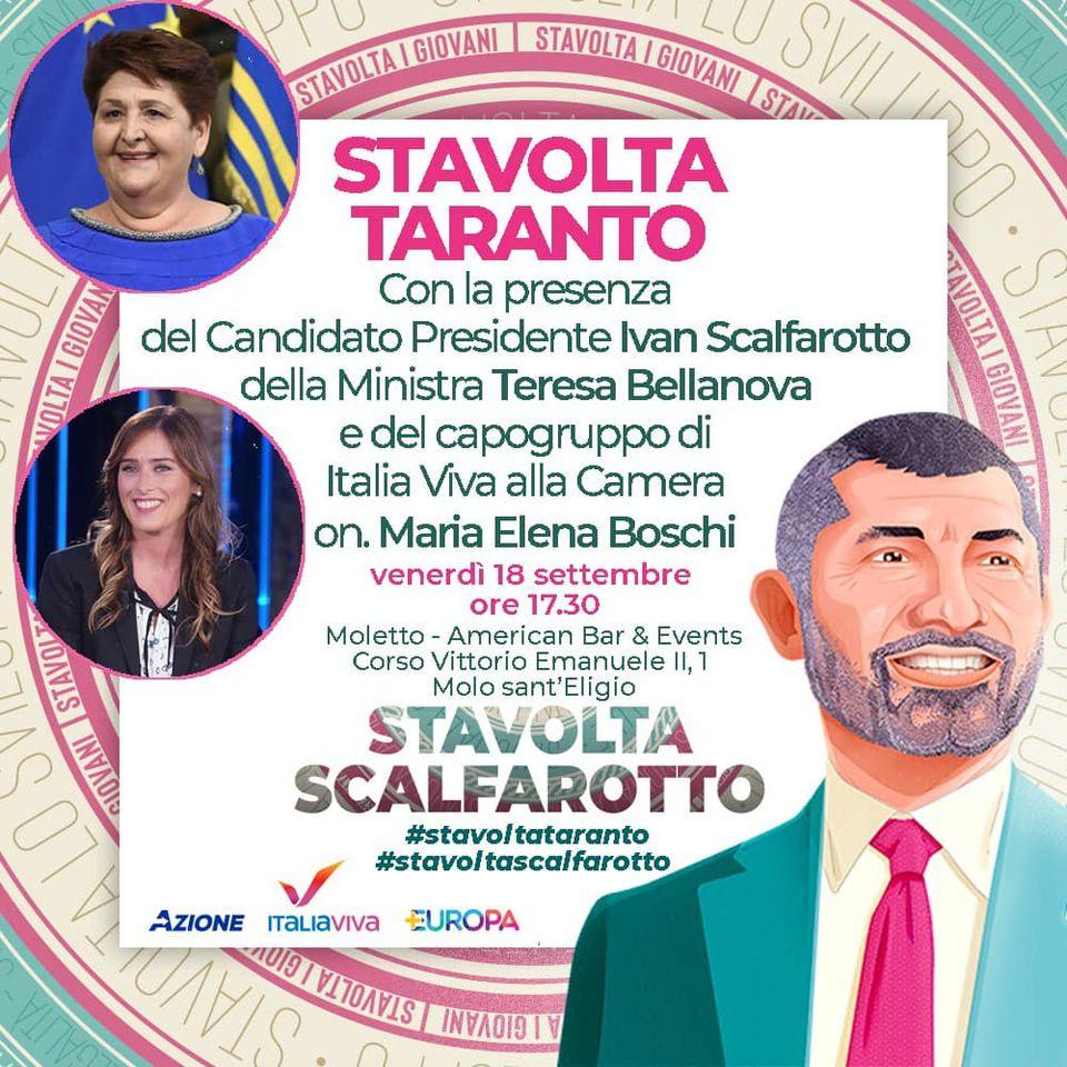 Chiusura campagna elettorale: Taranto Brindisi e Bari