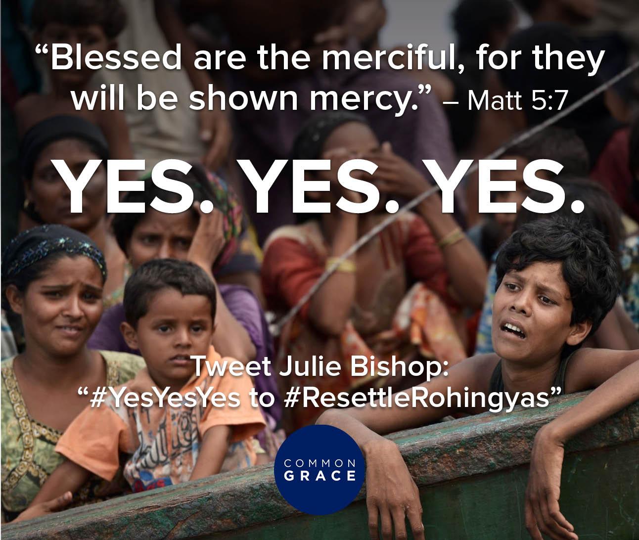 Yes. Rohingyans Still at Sea
