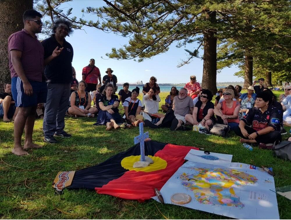 Prayer Gathering at Kurnell, NSW