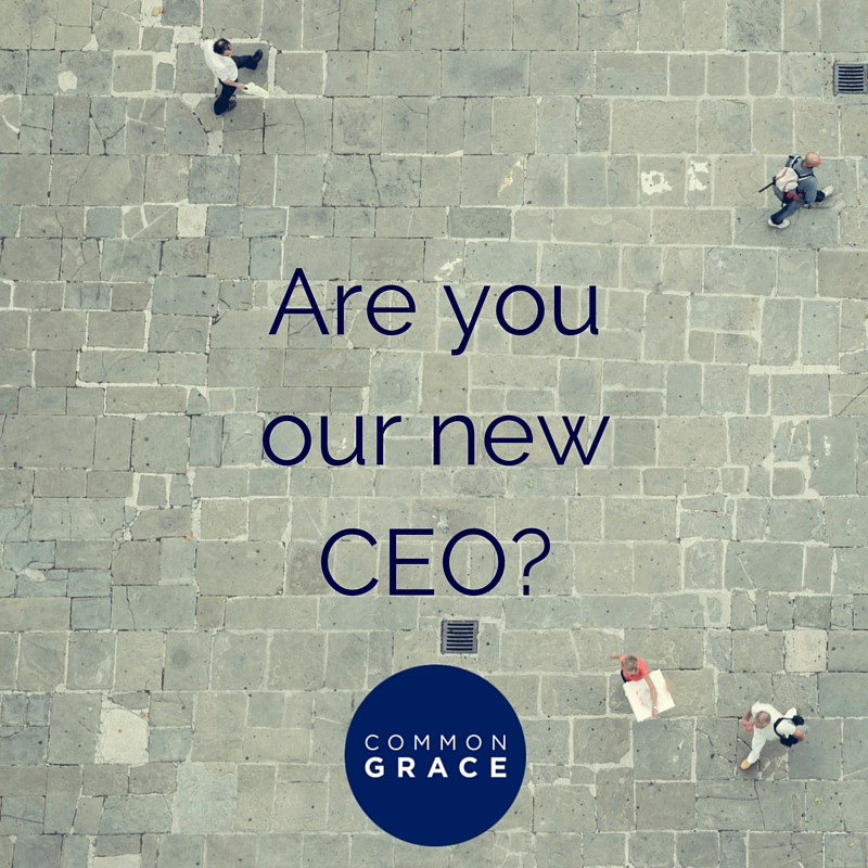 Are you our new CEO?