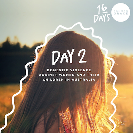 DAY 2 - Domestic Violence Against Women and their Children in Australia